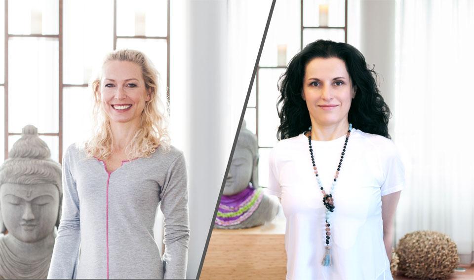 Tanja Seehofer und Liliane Tschurtschenthaler